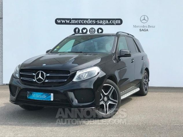 Mercedes GLE 350 d 258ch Fascination 4Matic 9G-Tronic NOIR OBSIDIENNE Occasion - 0