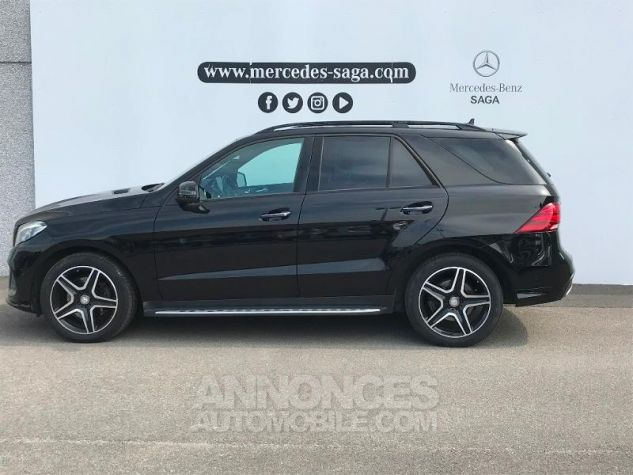 Mercedes GLE 350 d 258ch Fascination 4Matic 9G-Tronic NOIR OBSIDIENNE Occasion - 1