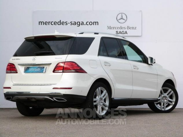 Mercedes GLE 350 d 258ch Fascination 4Matic 9G-Tronic BLANC DIAMANT Occasion - 1