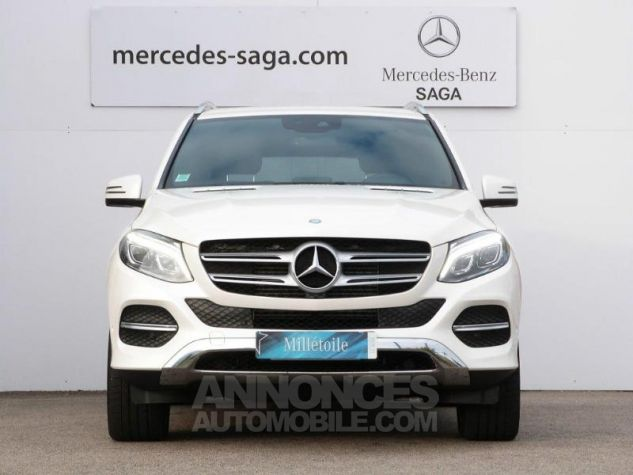 Mercedes GLE 350 d 258ch Fascination 4Matic 9G-Tronic BLANC DIAMANT Occasion - 4