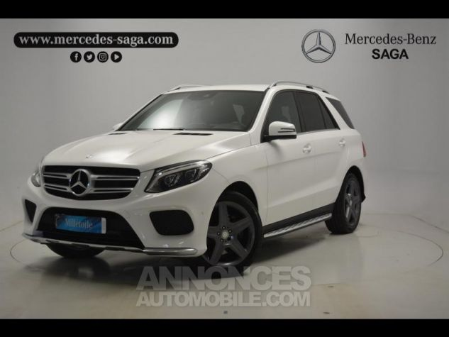 Mercedes GLE 350 d 258ch Sportline 4Matic 9G-Tronic blanc Occasion - 0