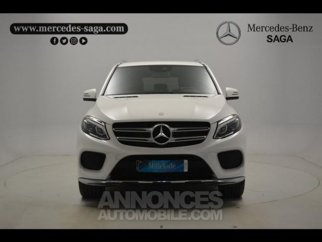 Mercedes GLE 350 d 258ch Sportline 4Matic 9G-Tronic blanc Occasion - 11
