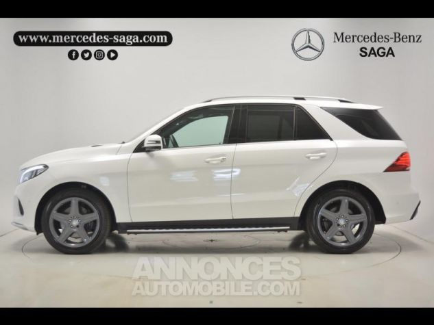 Mercedes GLE 350 d 258ch Sportline 4Matic 9G-Tronic blanc Occasion - 12