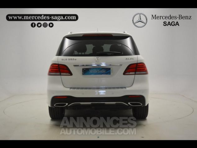 Mercedes GLE 350 d 258ch Sportline 4Matic 9G-Tronic blanc Occasion - 13