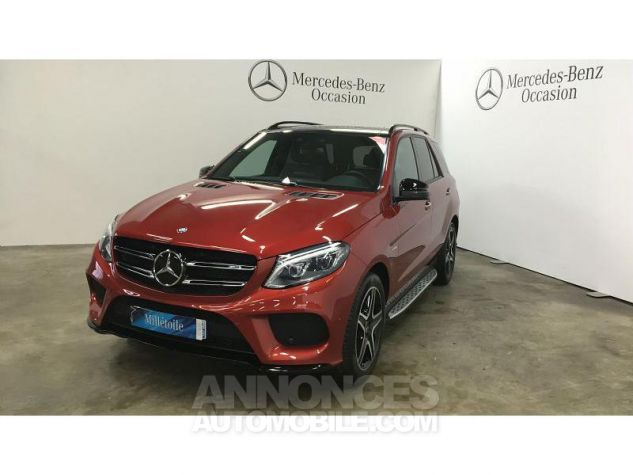 Mercedes GLE 43 AMG 367ch 4Matic 9G-Tronic Rouge Jacinthe Occasion - 0