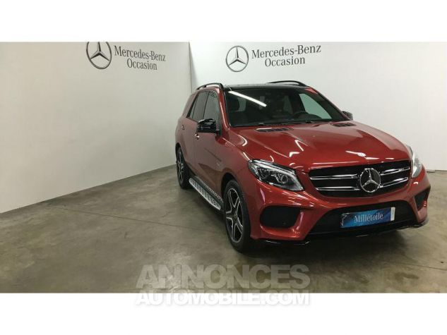 Mercedes GLE 43 AMG 367ch 4Matic 9G-Tronic Rouge Jacinthe Occasion - 10