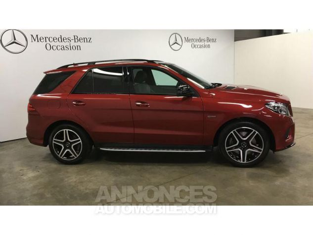 Mercedes GLE 43 AMG 367ch 4Matic 9G-Tronic Rouge Jacinthe Occasion - 15