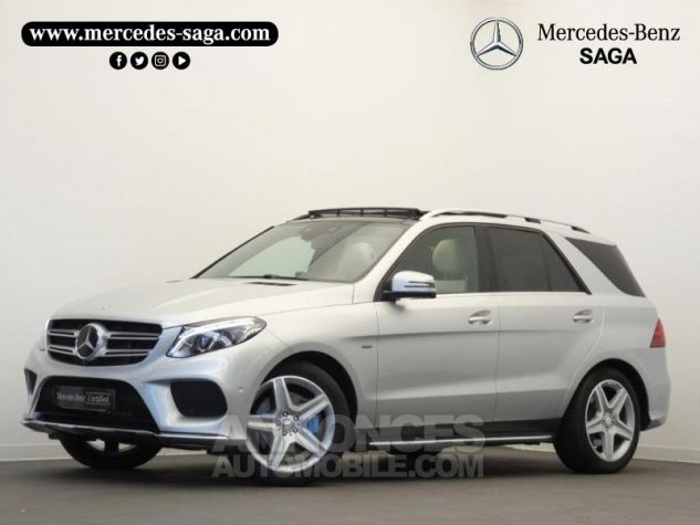 Mercedes GLE 500 e Fascination 4Matic 7G-Tronic Plus Argent Iridium Occasion - 0