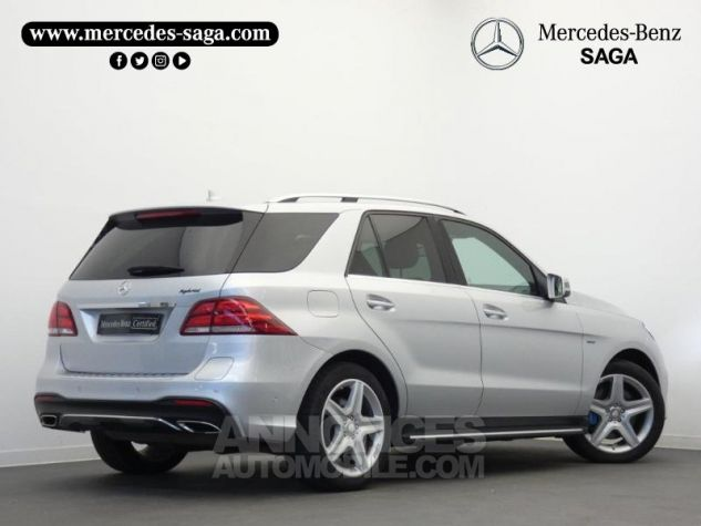 Mercedes GLE 500 e Fascination 4Matic 7G-Tronic Plus Argent Iridium Occasion - 1
