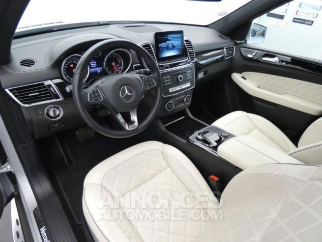 Mercedes GLE 500 e Fascination 4Matic 7G-Tronic Plus Argent Iridium Occasion - 8