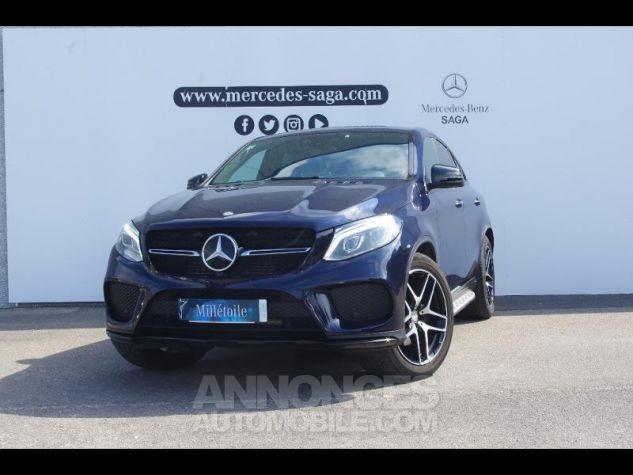 Mercedes GLE Coupé 350 d 258ch Fascination 4Matic 9G-Tronic BLEU CAVANSITE Occasion - 0