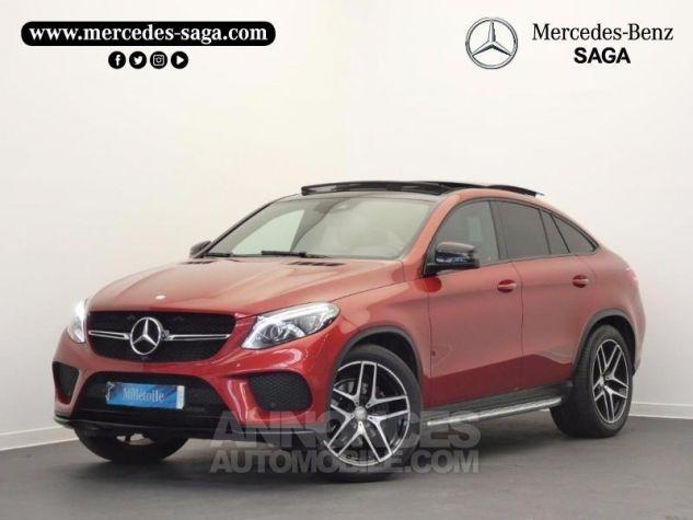Mercedes GLE Coupé 350 d 258ch Fascination 4Matic 9G-Tronic Rouge Jacinthe Designo Occasion - 0