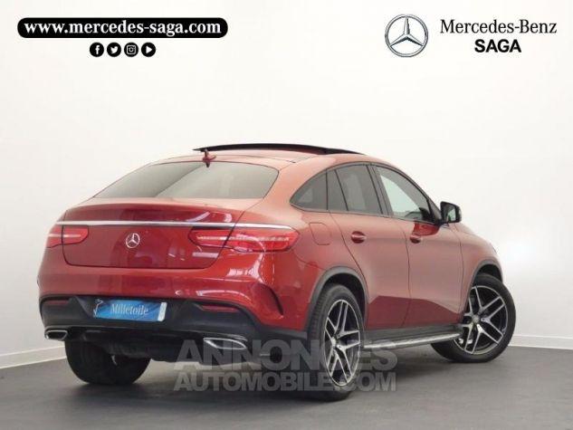 Mercedes GLE Coupé 350 d 258ch Fascination 4Matic 9G-Tronic Rouge Jacinthe Designo Occasion - 1