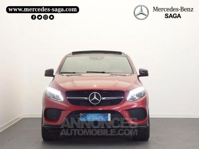 Mercedes GLE Coupé 350 d 258ch Fascination 4Matic 9G-Tronic Rouge Jacinthe Designo Occasion - 5