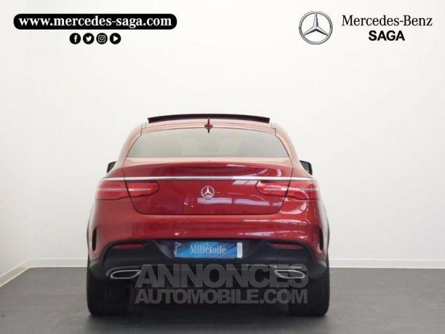 Mercedes GLE Coupé 350 d 258ch Fascination 4Matic 9G-Tronic Rouge Jacinthe Designo Occasion - 7