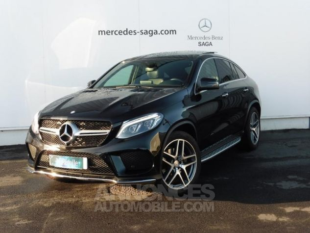 Mercedes GLE Coupé 350 d 258ch Fascination 4Matic 9G-Tronic ZP NOIR OBSIDIENNE Occasion - 0