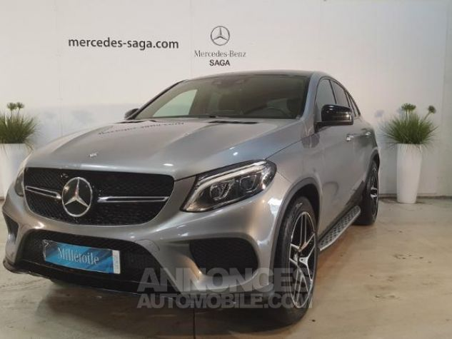 Mercedes GLE Coupé 350 d 258ch Fascination 4Matic 9G-Tronic PALLADIUM Occasion - 0