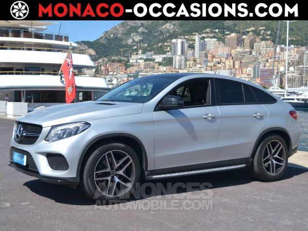 Mercedes GLE Coupé 350 d 258ch Sportline 4Matic 9G-Tronic Gris Clair Métal Occasion - 0