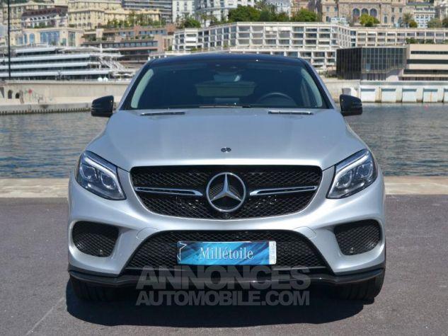 Mercedes GLE Coupé 350 d 258ch Sportline 4Matic 9G-Tronic Gris Clair Métal Occasion - 1