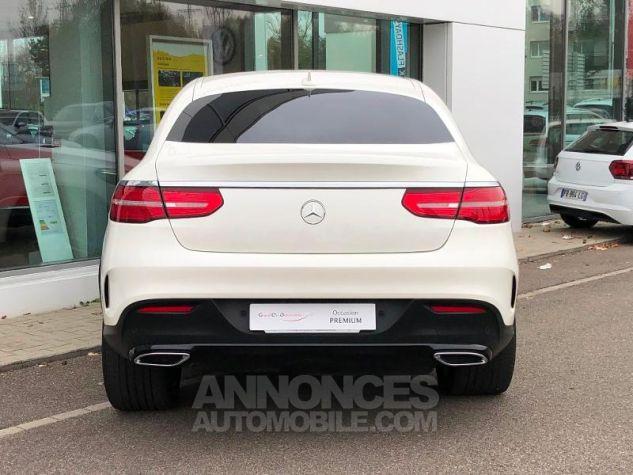 Mercedes GLE Coupé 350 d 258ch Sportline 4Matic 9G-Tronic Blanc diamant designo brillant Occasion - 4