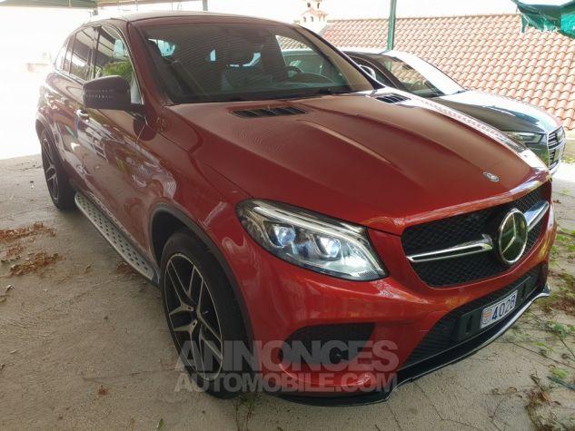 Mercedes GLE Coupé 450 AMG Rouge Jacinthe (Peinture Desig Occasion - 1