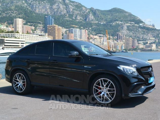 Mercedes GLE Coupé 63 AMG S 585ch 4Matic 7G-Tronic Speedshift Plus Noir Obsidienne Occasion - 2