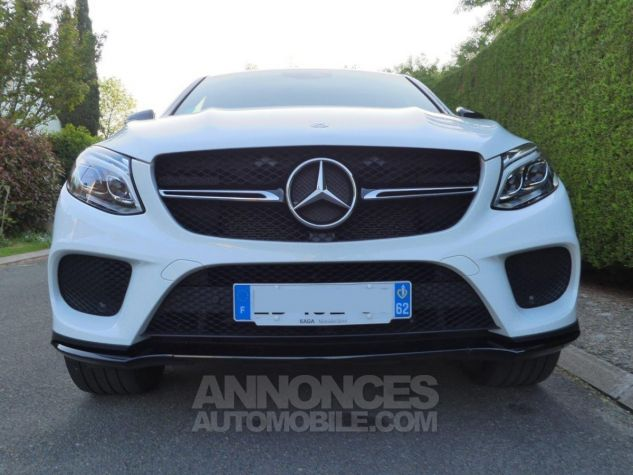 Mercedes GLE MERCEDES BENZ 450 GLE AMG 370 CH (26CH) blanc Occasion - 2