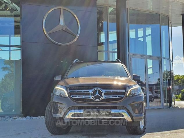 Mercedes GLS 350d 258ch 4Matic 9G-Tronic BRUN CITRINE Occasion - 10