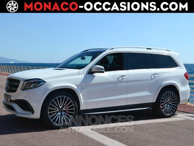 Mercedes GLS 63 AMG 585ch 4Matic 7G-Tronic Speedshift Plus Blanc Polaire Occasion - 0