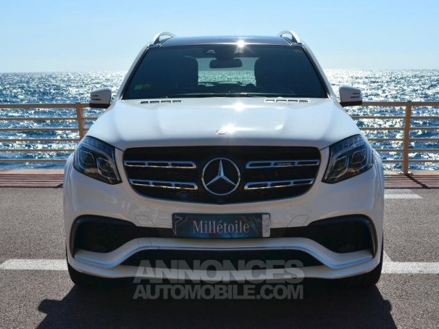 Mercedes GLS 63 AMG 585ch 4Matic 7G-Tronic Speedshift Plus Blanc Polaire Occasion - 1