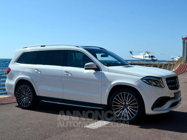 Mercedes GLS 63 AMG 585ch 4Matic 7G-Tronic Speedshift Plus Blanc Polaire Occasion - 2