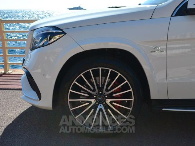 Mercedes GLS 63 AMG 585ch 4Matic 7G-Tronic Speedshift Plus Blanc Polaire Occasion - 6
