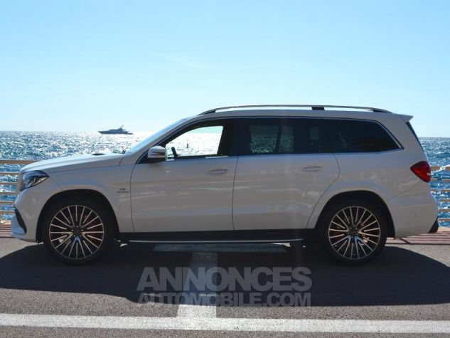 Mercedes GLS 63 AMG 585ch 4Matic 7G-Tronic Speedshift Plus Blanc Polaire Occasion - 7