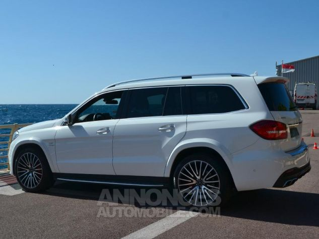 Mercedes GLS 63 AMG 585ch 4Matic 7G-Tronic Speedshift Plus Blanc Polaire Occasion - 8