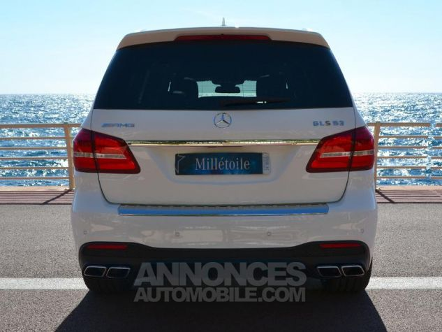 Mercedes GLS 63 AMG 585ch 4Matic 7G-Tronic Speedshift Plus Blanc Polaire Occasion - 9