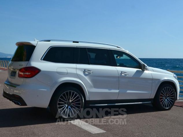 Mercedes GLS 63 AMG 585ch 4Matic 7G-Tronic Speedshift Plus Blanc Polaire Occasion - 10