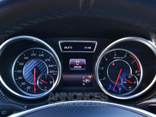Mercedes GLS 63 AMG 585ch 4Matic 7G-Tronic Speedshift Plus Blanc Polaire Occasion - 12