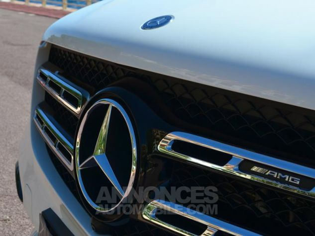 Mercedes GLS 63 AMG 585ch 4Matic 7G-Tronic Speedshift Plus Blanc Polaire Occasion - 19