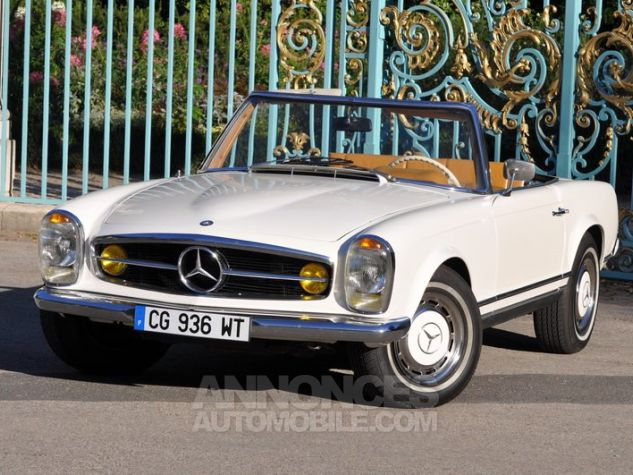 Mercedes SL 280 Pagode California Ivoire Occasion - 1