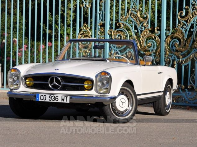 Mercedes SL 280 Pagode California Ivoire Occasion - 2