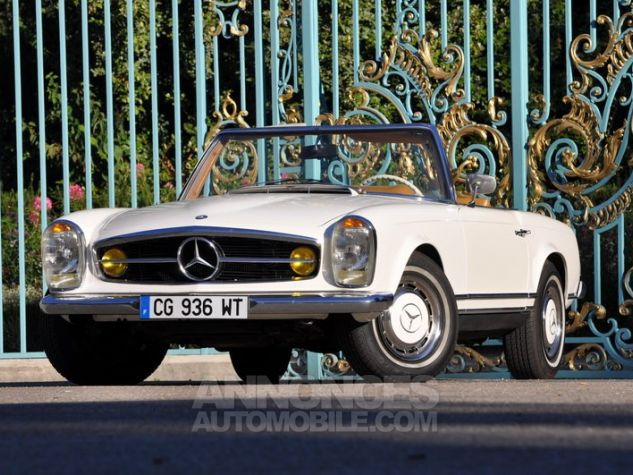 Mercedes SL 280 Pagode California Ivoire Occasion - 3