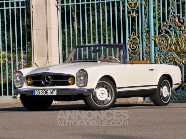 Mercedes SL 280 Pagode California Ivoire Occasion - 4