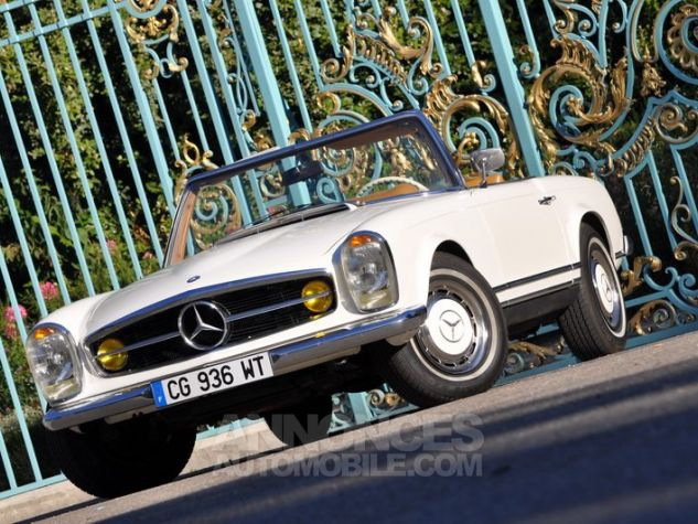 Mercedes SL 280 Pagode California Ivoire Occasion - 6