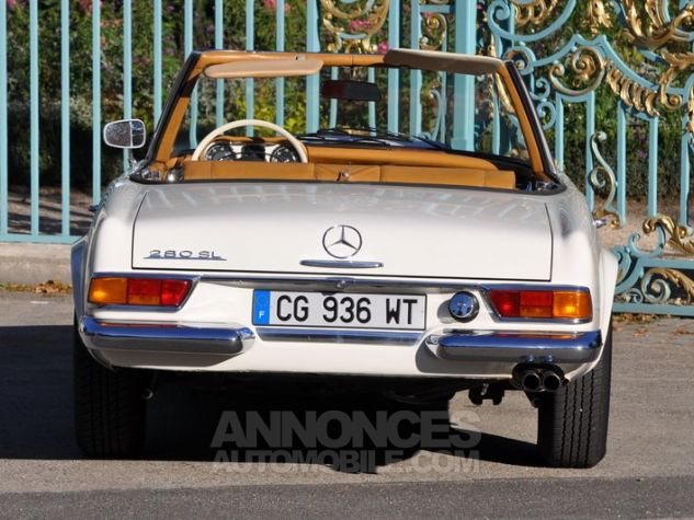 Mercedes SL 280 Pagode California Ivoire Occasion - 8