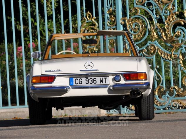 Mercedes SL 280 Pagode California Ivoire Occasion - 9