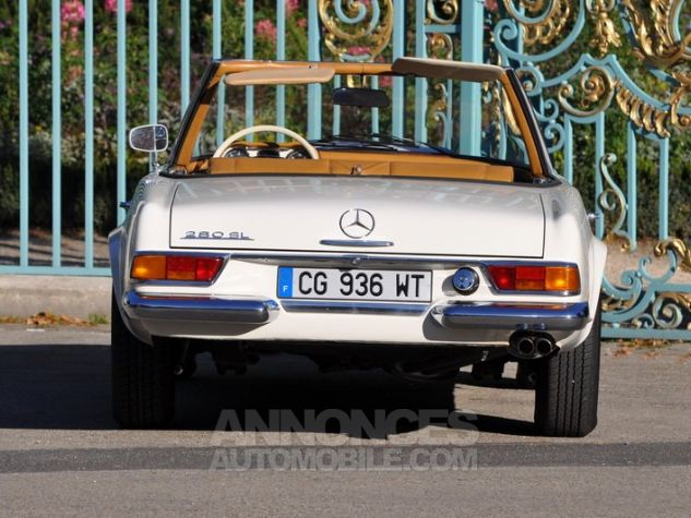 Mercedes SL 280 Pagode California Ivoire Occasion - 10