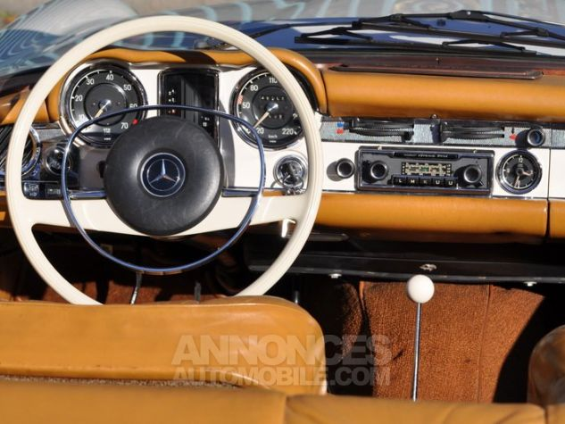 Mercedes SL 280 Pagode California Ivoire Occasion - 11
