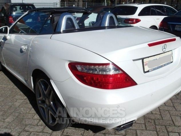 Mercedes SLK 250 CDI 204 (toit panoramique) WHITE DIAMOND - Peinture métal Occasion - 9