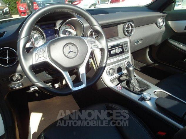 Mercedes SLK 250 CDI 204 (toit panoramique) WHITE DIAMOND - Peinture métal Occasion - 10