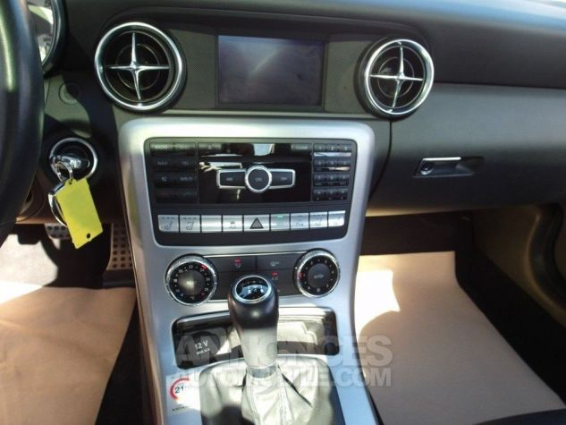 Mercedes SLK 250 CDI 204 (toit panoramique) WHITE DIAMOND - Peinture métal Occasion - 15